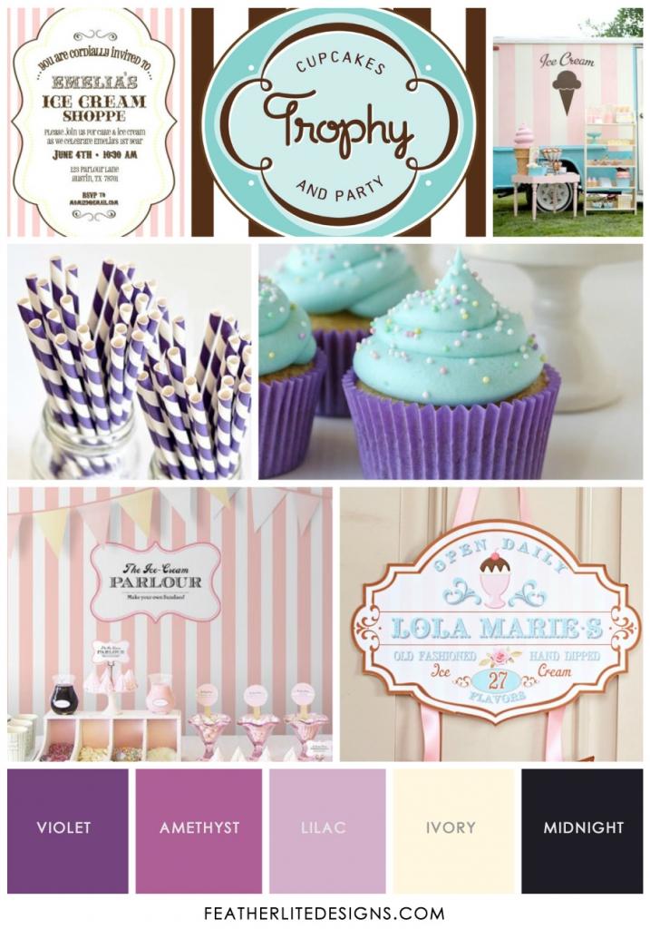Ice Cream Shops Logos Ice Cream Shop Invite